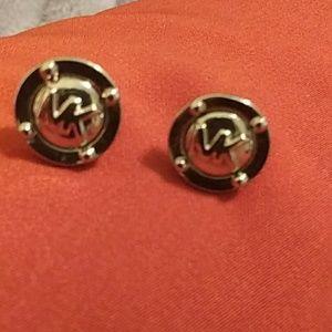 MK Michael Kors silver earrings